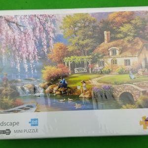 1000 Piece Landscape Mini Jigsaw Puzzle Beautiful